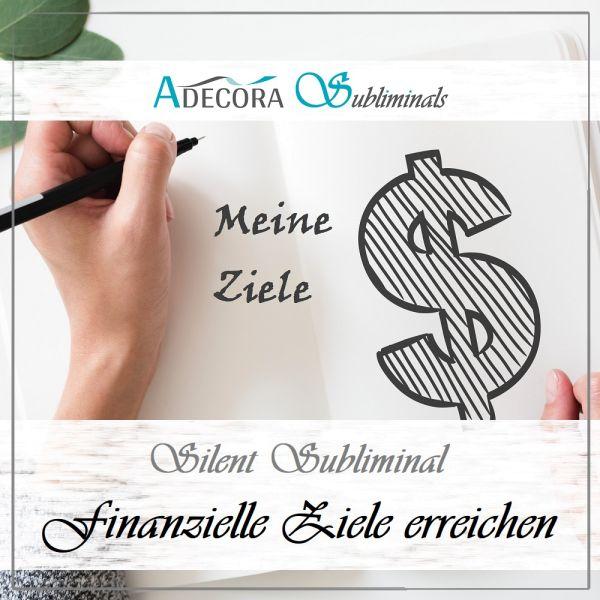 Finanzielle Ziele erreichen